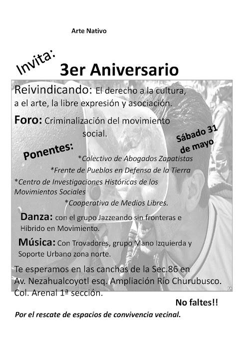 Foro: Criminalización del movimiento social