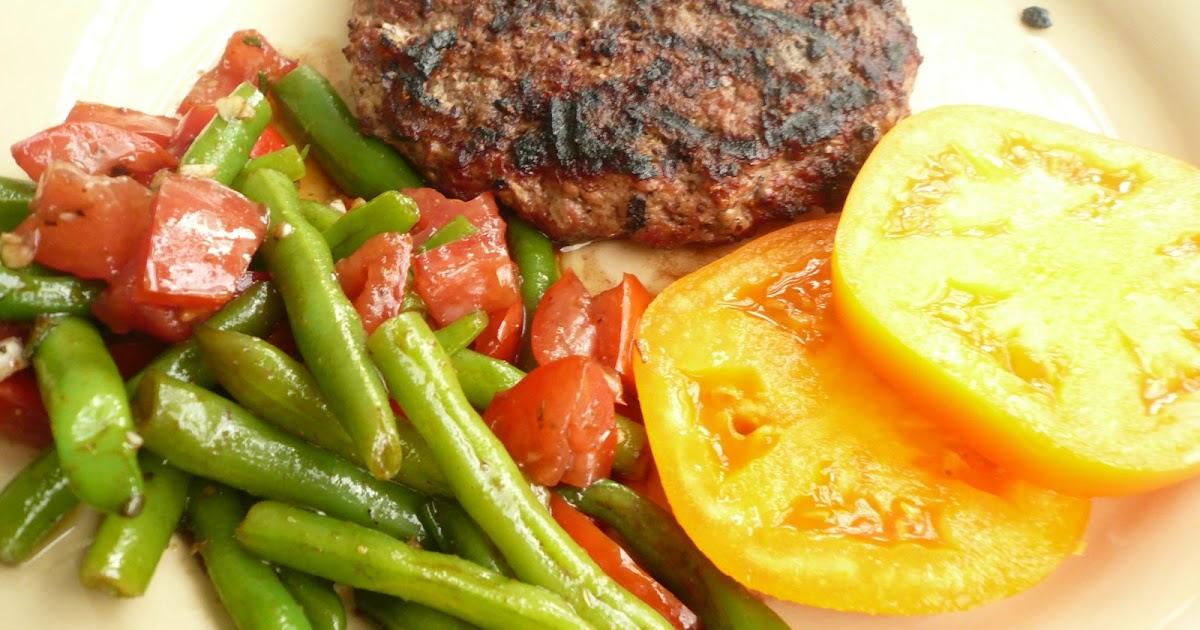 One Dozen Eggs: Tomato and Green Bean Salad
