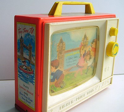 1960s fisher price music box
