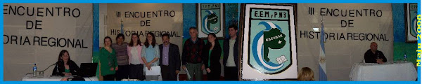 3º Encuentro de Historia Regional - 16/10/2008
