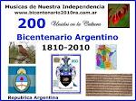 Camino al Bicentenario 2010