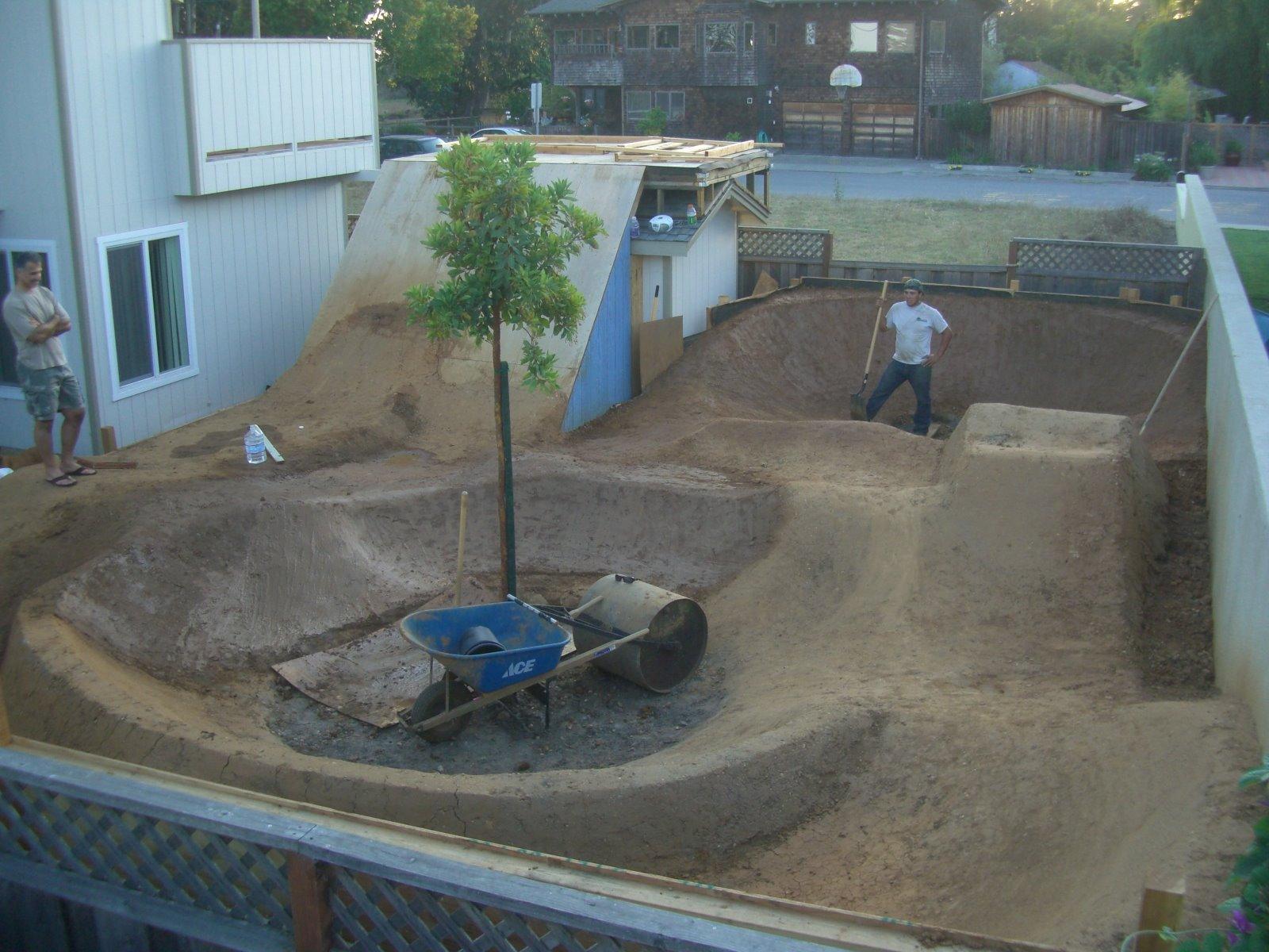 bike stunts disguised as landscaping mtbr com
