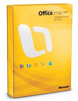 Office 2008 – Imagem por Microsoft