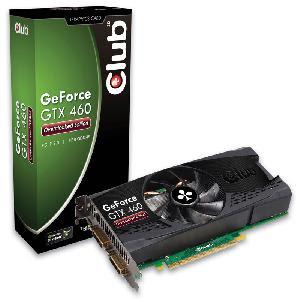 GeForce GTX 460 com Overclock é lançado pela Club 3D
