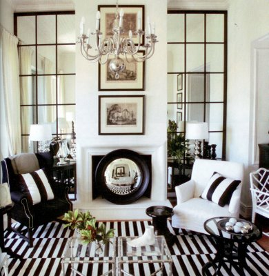 decor - black and white