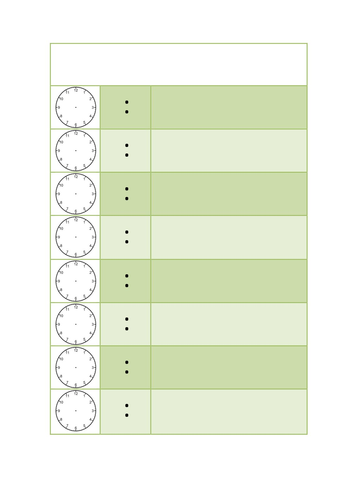 mokas as promised a busy day schedule template