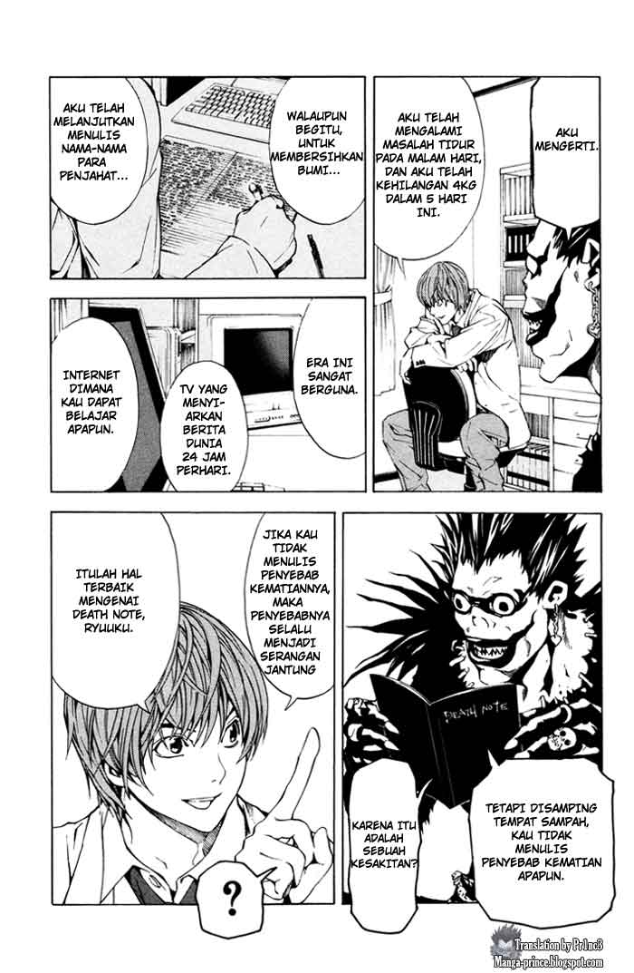 Death Note page 4