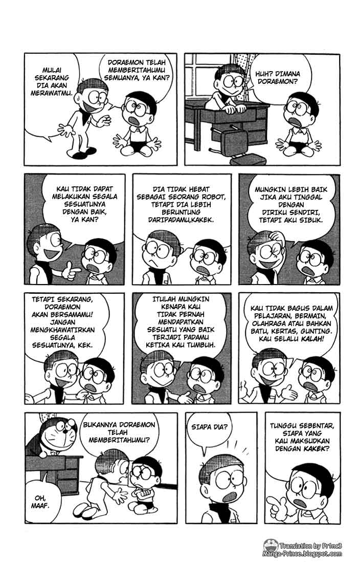 Gambar Manga Doraemon Hal 9