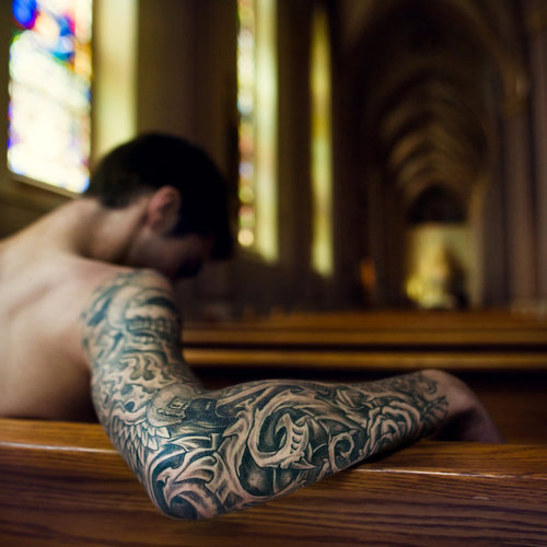 ( bio mechical tattoos sleeve). half sleeve star tattoos