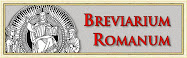 BREVIARIO ROMANO TRADIZIONALE