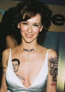 celebrity tattoos, tattooing