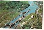 Panama Canal. Pedro Miguel Locks