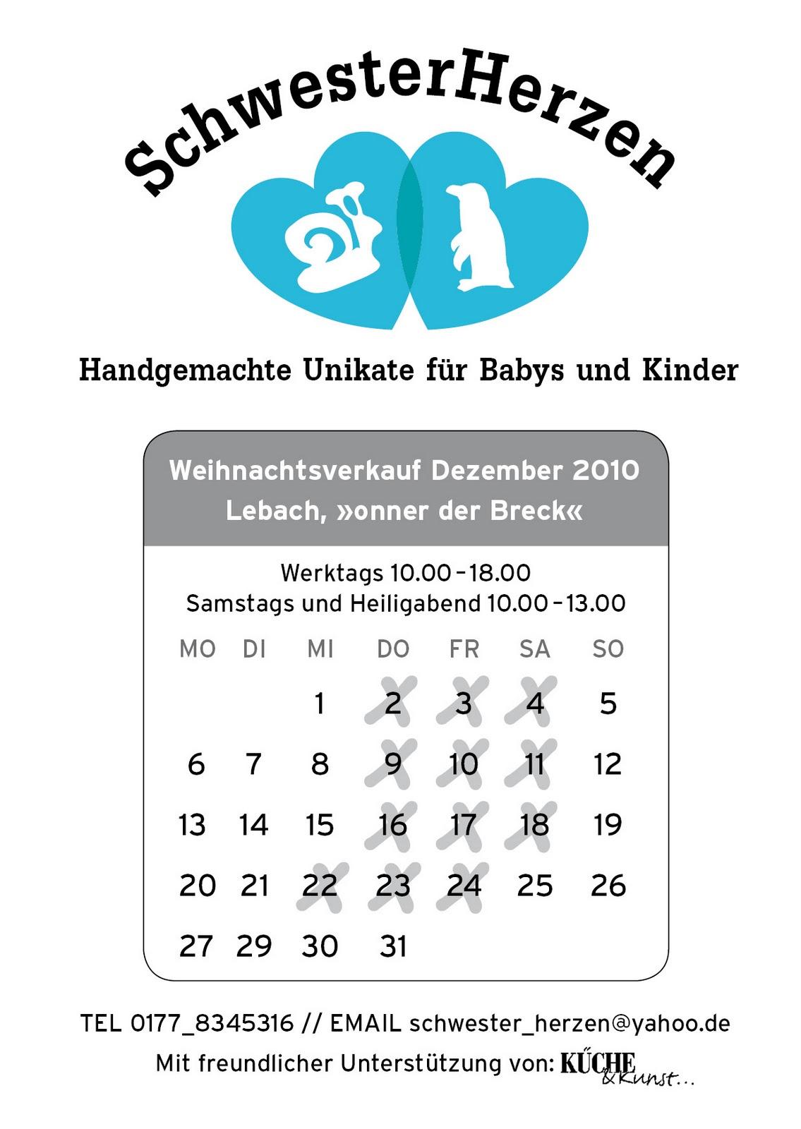 SchwesterHerzen: 2010