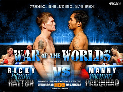 Manny Pacquiao Ricky Hatton Fight