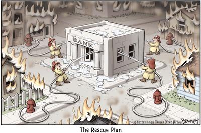 Plan de rescate financiero para solucionar la crisis
