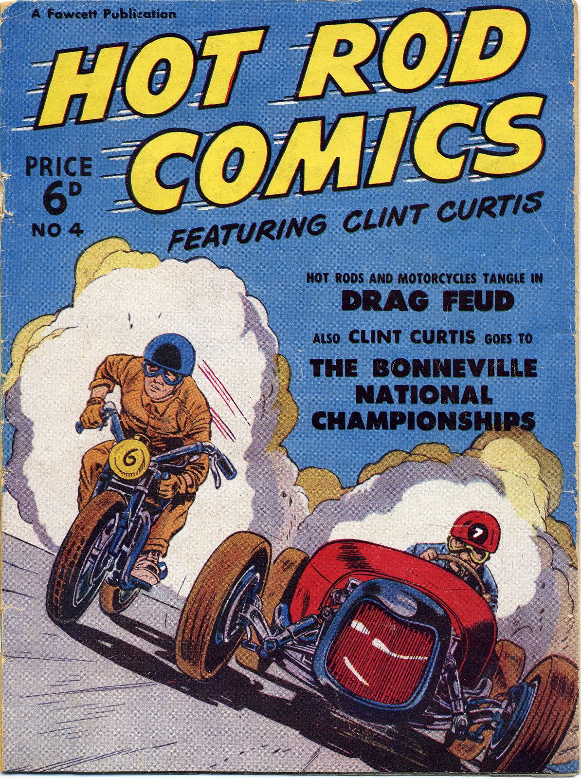 Hot Rod comics featuring Clint