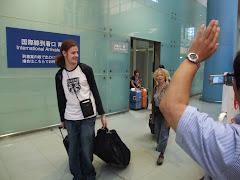 arrivée au JAPON. OUI.!!!