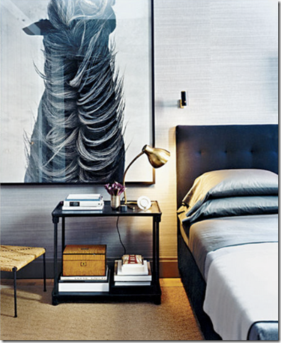 one of my favorite designers thom filicia from elle decor u2013 i love the scale of this piece whoever said less was more beautiful u0026 abstract