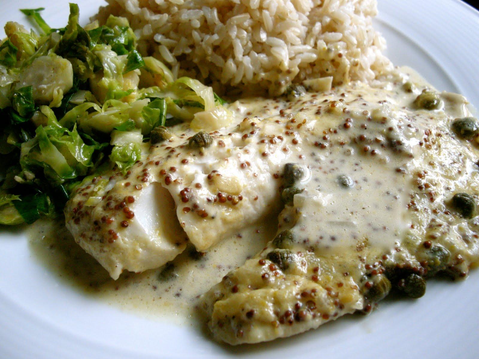 Foodism mom mustard roasted fish for Ina garten mustard fish