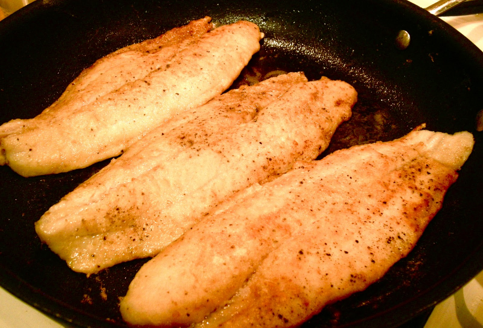 Foodism mom pan fried swai with lemon butter sauce for What is a swai fish