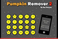Pumpkin Remover 2 walkthrough.