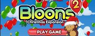 Bloons 2 Christmas Pack walkthrough.