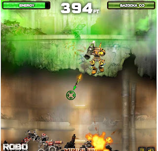 Robo Rampage walkthrough.