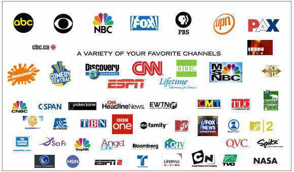 how to get free tv channels without internet