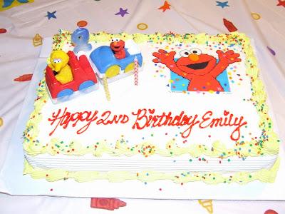 Emily's Elmo Birthday