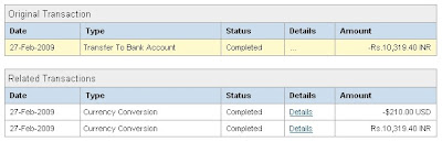 Paypal Indian Bank withdrawal Problem - Payments Not Processed