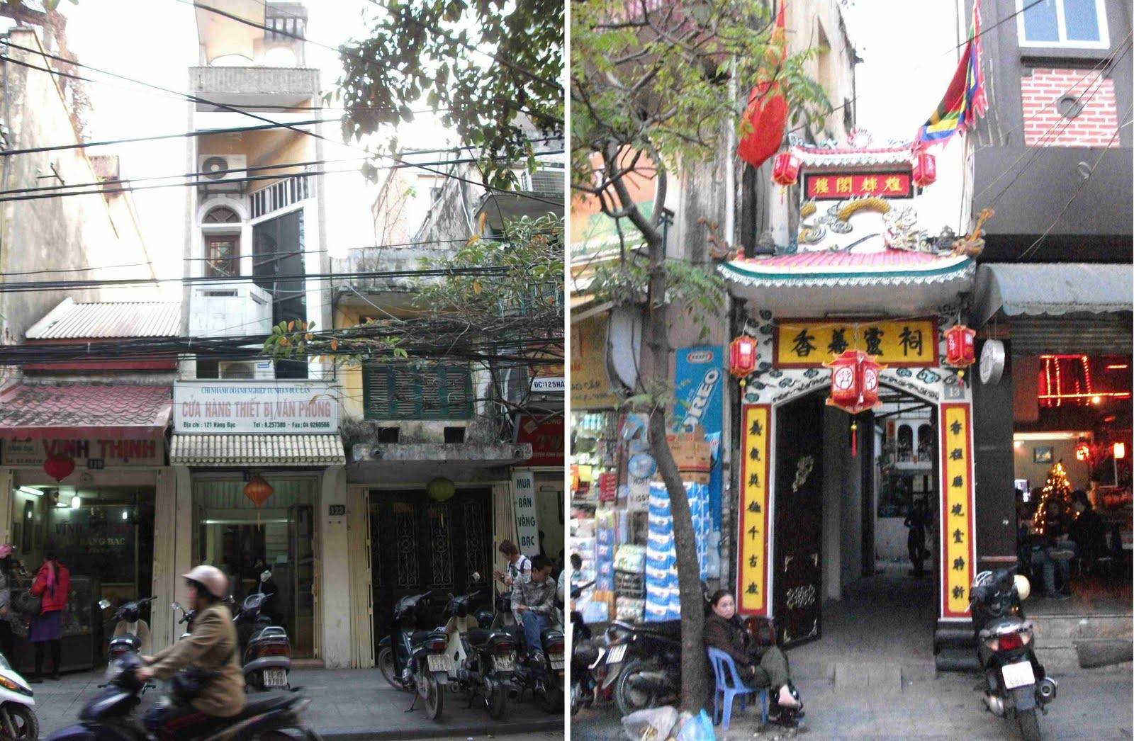 is this hanoi s narrowest tubehouse and narrowest temple