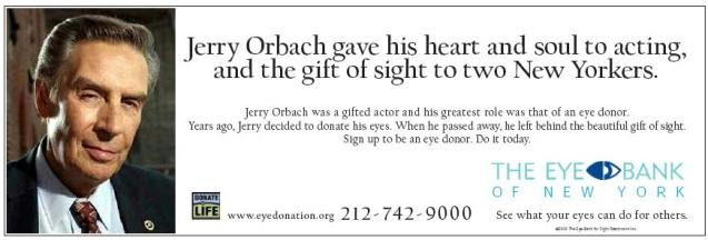 Image result for jerry orbach eyes
