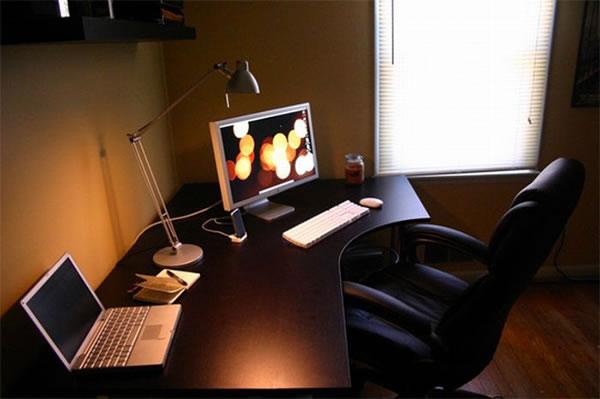 Imagens [Espantosas] Os mais incríveis escritórios em casa  Escritorio7