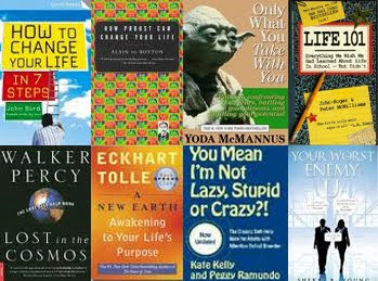 self-help book covers