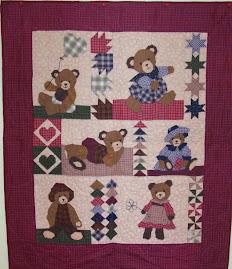 Petit ours brun 80cm x 95cm 20€