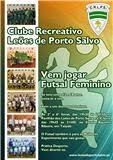 Treinos de captação das Juniores Femininas dos Leões de Porto Salvo