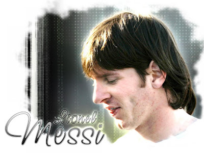 wallpaper fotbal Lionel Messi