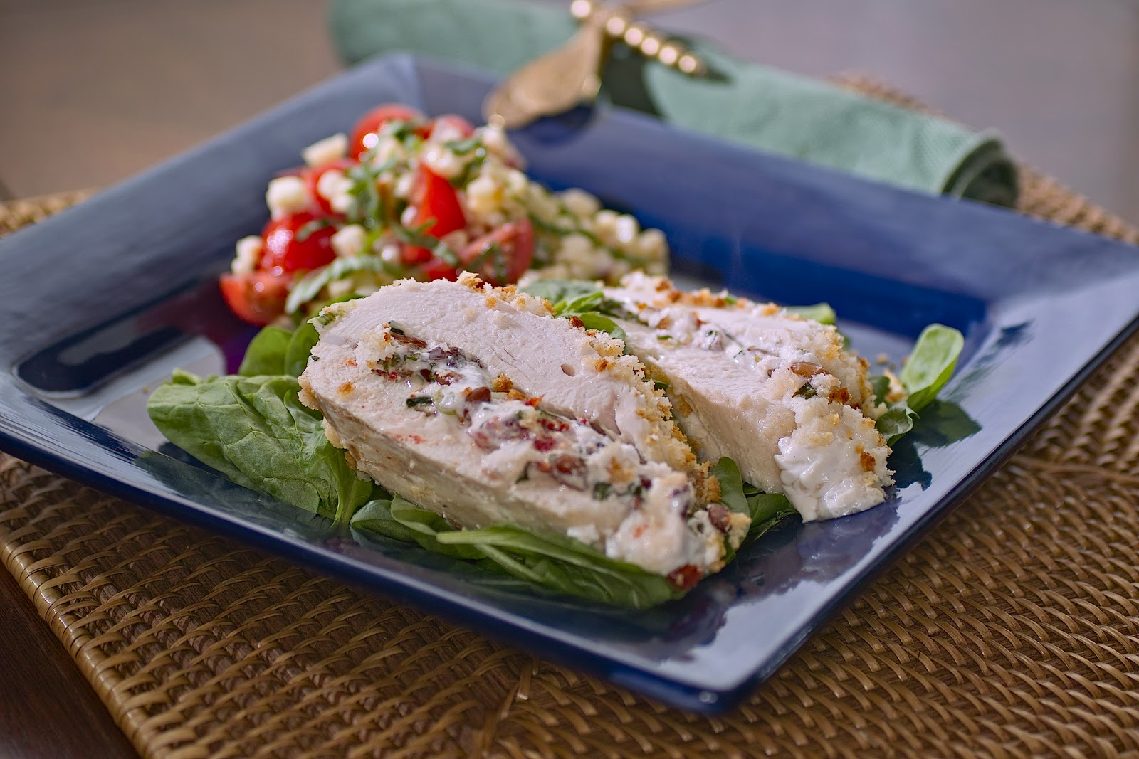 Goat Cheese And Herb Stuffed Chicken Breasts We Blog The