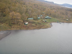 Saltery Lake Lodge from Bill's airplane