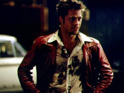 brad pitt body in fight club. rad pitt fight club
