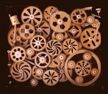 arte nascosta sculture in legno cinetiche