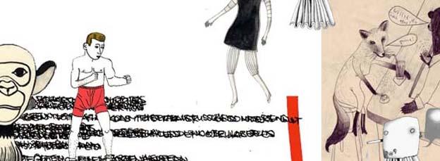 """""""schwarzmalerei 02"""" im SOUTERRAIN"""