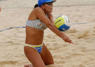 Beach Volleyball: I used to think the shorts women wore for indoor ...