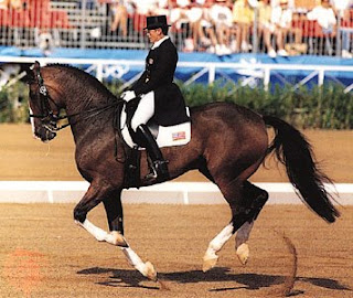 Olympic equestrian outfit