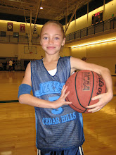 Kelsie first basketball game