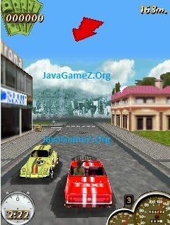 Super Taxi Driver 240x320 Java Game