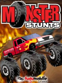 Monster Stunts 240x320 Java Oyun