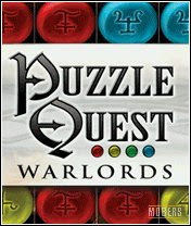 nokia game app - puzzle quest warlords