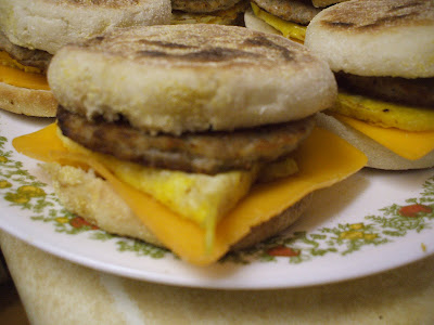 how to make your own egg mcmuffin