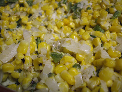 Poblano and Cream Corn